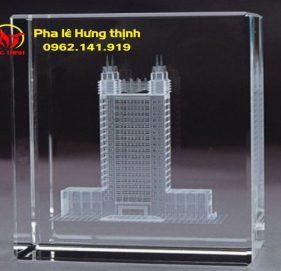 Pha Lê 3D hình tòa nhà