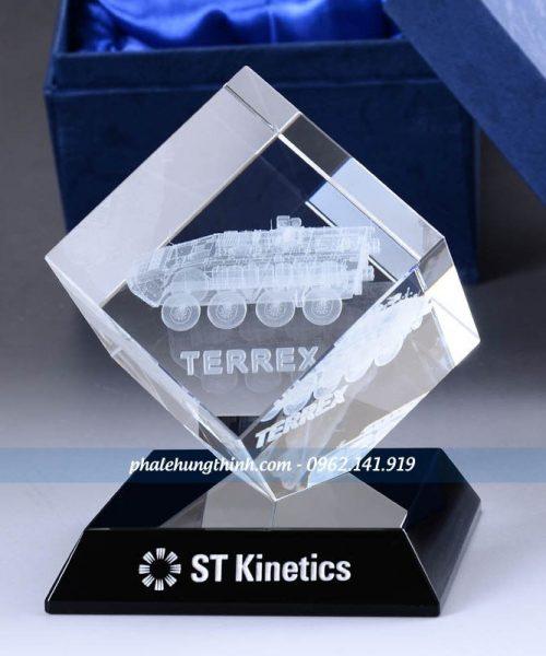 kỷ niệm chương pha lê 3D