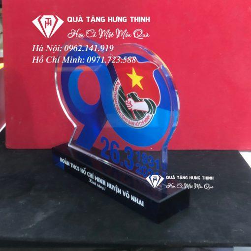 Bộ số pha lê kỷ niệm 90 năm ngày thành lập đoàn 01